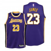 Lebron James Los Angeles Lakers #23 Youth Statement Jersey